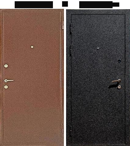 стальные двери с порошковым крокодил