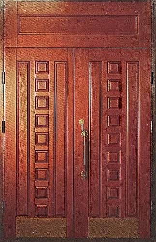 входные уличные двери массив