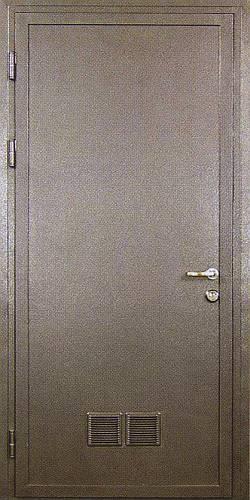 цвет напыления на металлической двери