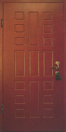 дверь металлическая пвх покрытием
