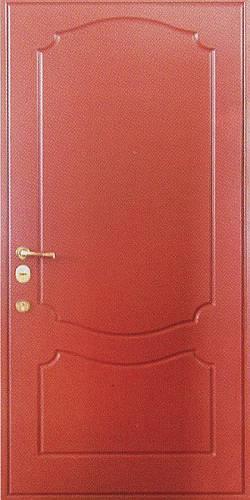 металлическая дверь с пвх покрытием